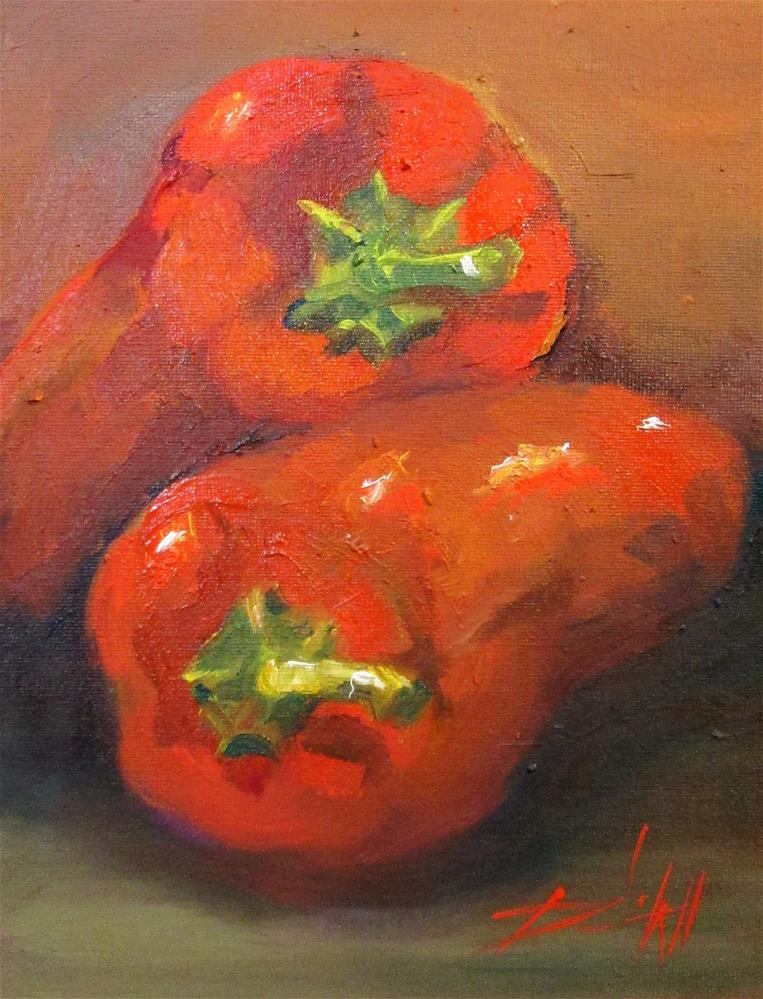"""Spicy Stuff"" original fine art by Delilah Smith"