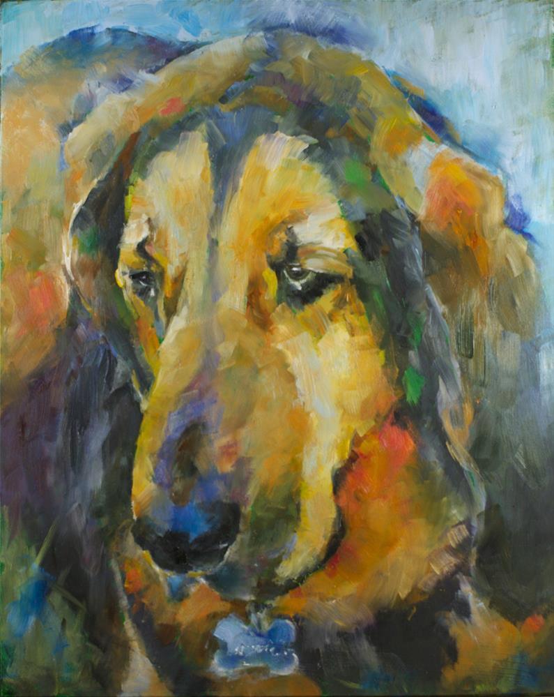 """""""Focused"""" original fine art by Sue Churchgrant"""