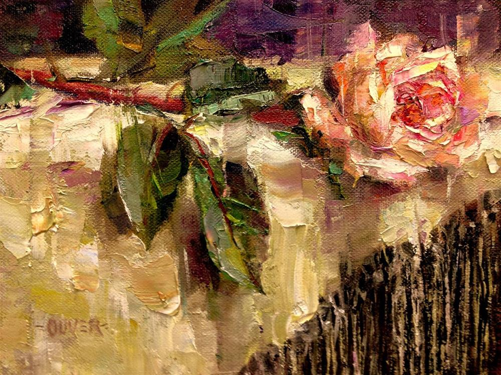 """""""A Day of Love and Memories"""" original fine art by Julie Ford Oliver"""