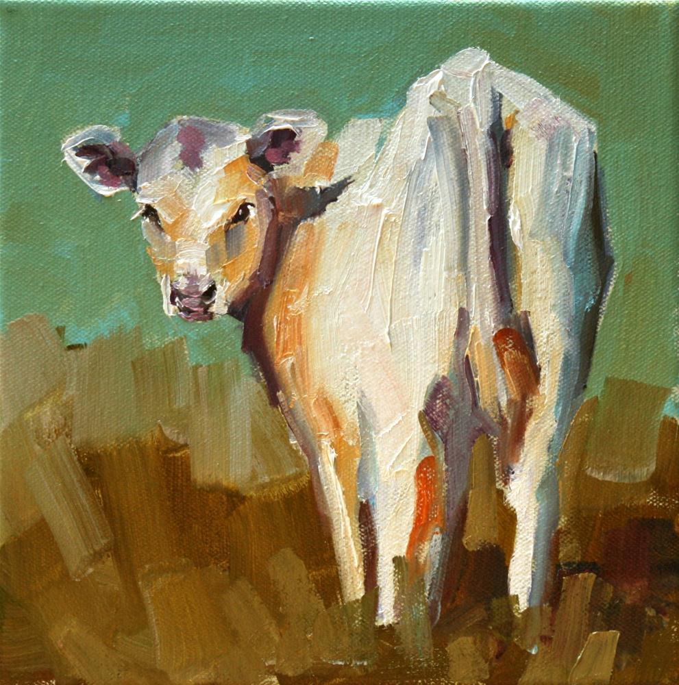 """""""backward glance"""" original fine art by Carol Carmichael"""