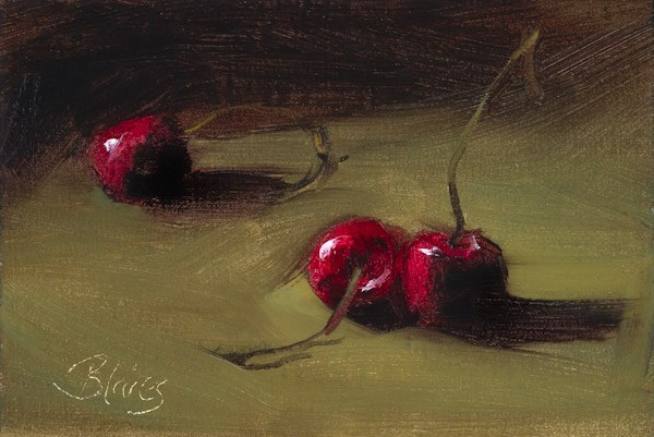 """Three's a Crowd"" original fine art by Pamela Blaies"