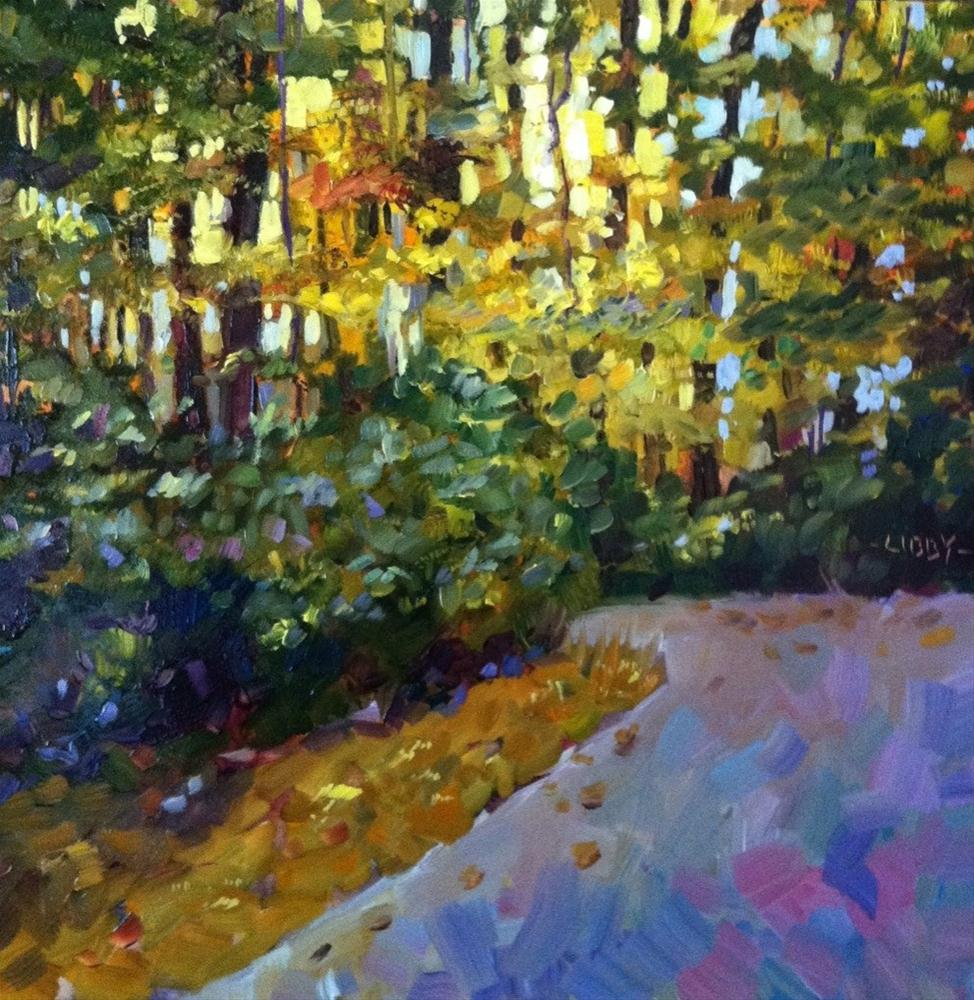 """""""Afternoon Path"""" original fine art by Libby Anderson"""