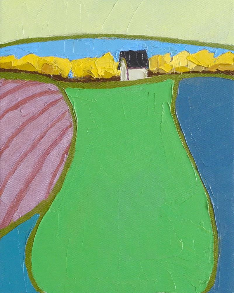 """Top of the Field"" original fine art by Donna Walker"