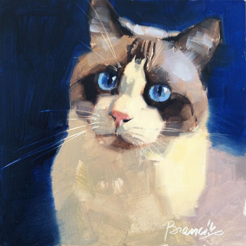 """""""Siamese Mix"""" original fine art by Candace Brancik"""