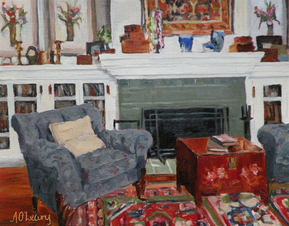 """""""Collectibles """" original fine art by Alice O'Leary"""