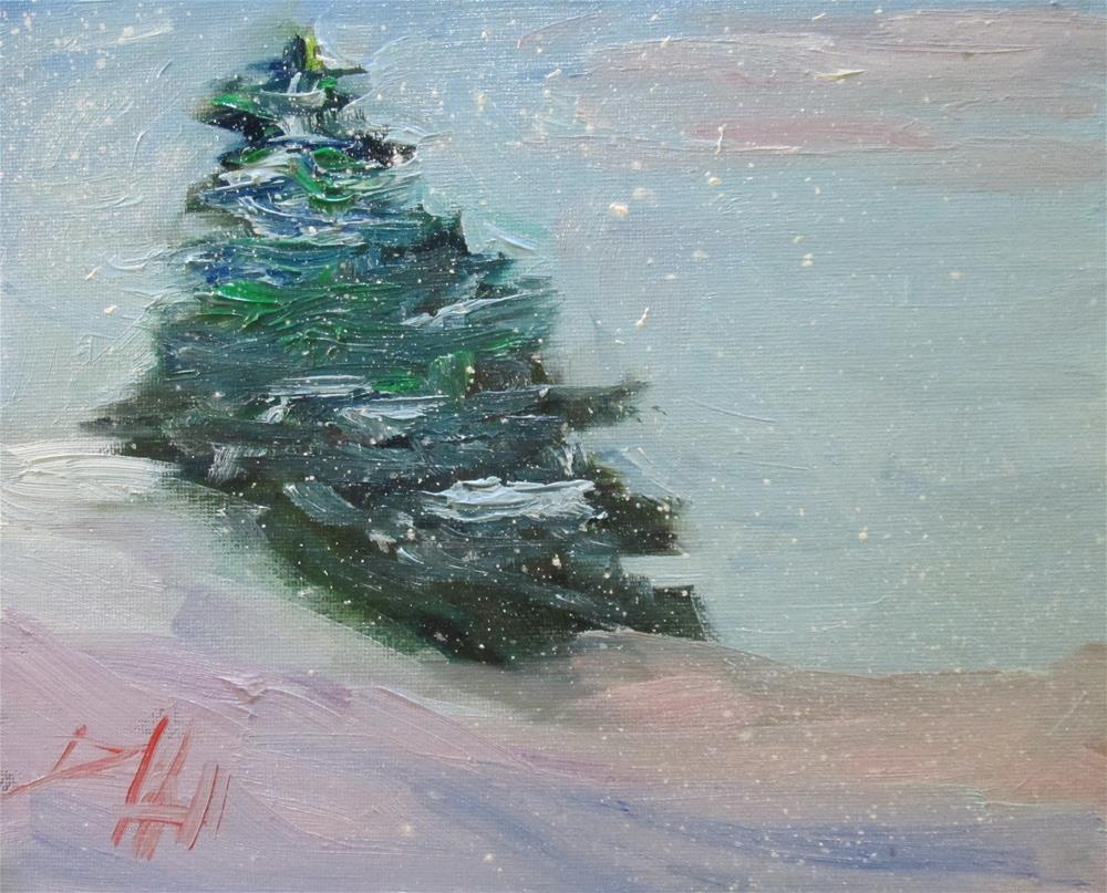 """Winter Day"" original fine art by Delilah Smith"