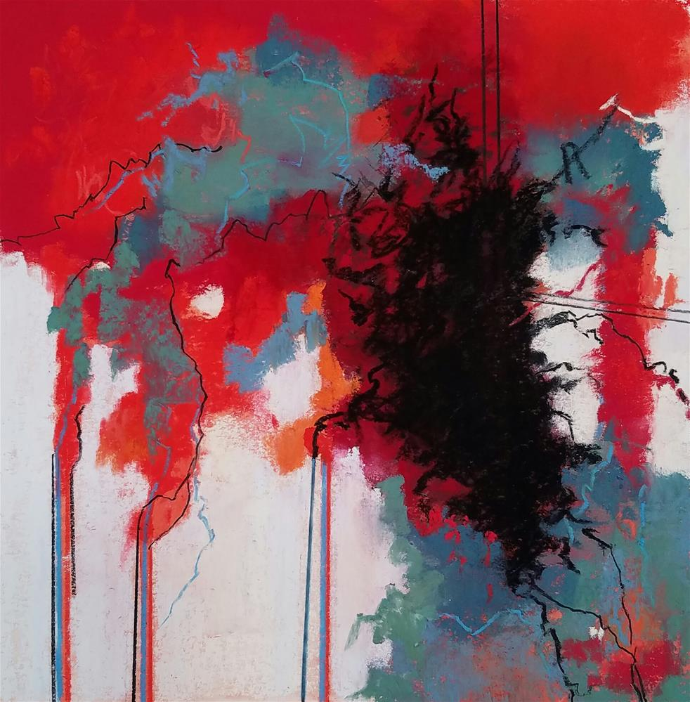 """Untitled 916"" original fine art by Cindy Haase"