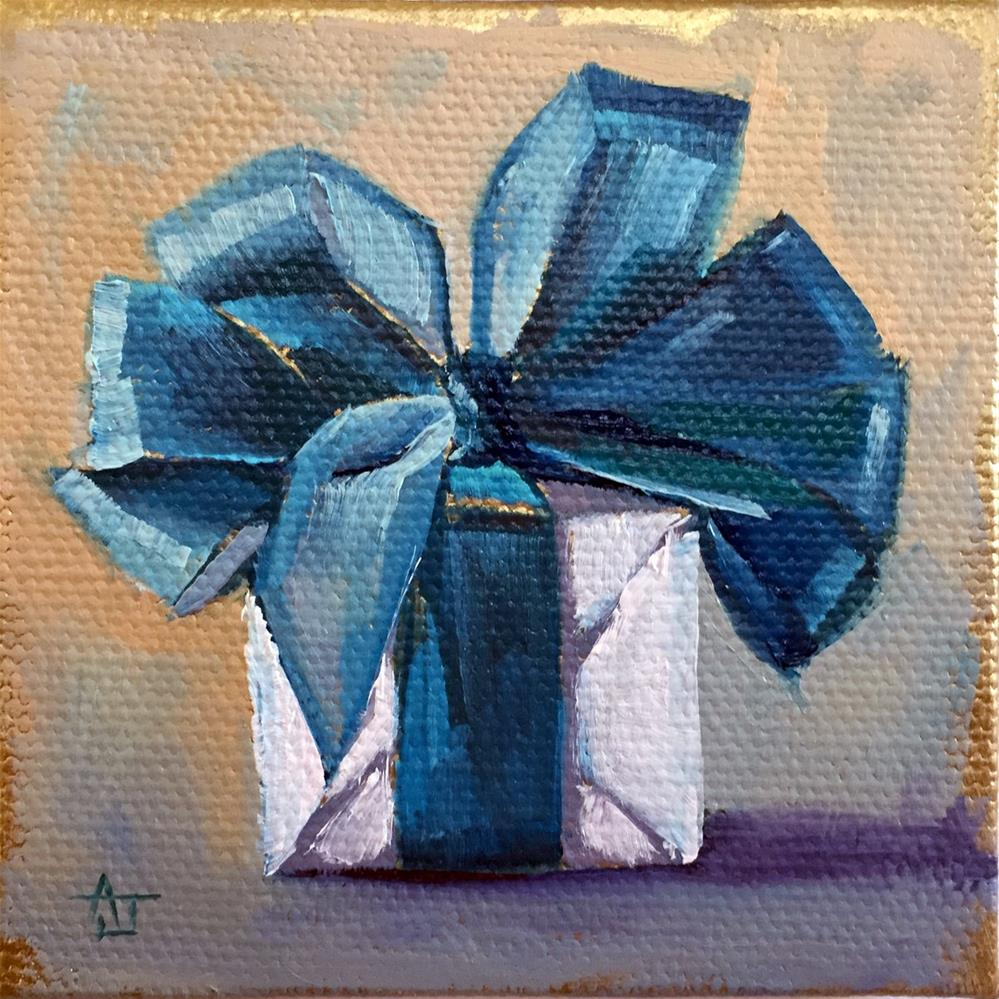 """Big Bow"" original fine art by Andrea Jeris"