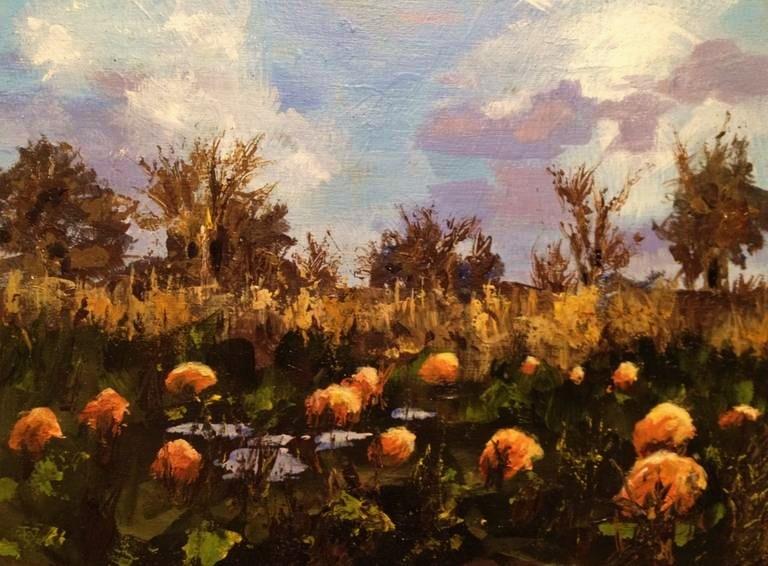 """""""Pumpkin Patch"""" original fine art by Gary Bruton"""
