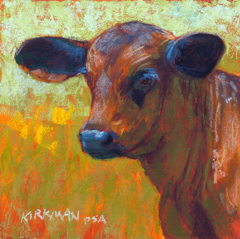 """Lentil"" original fine art by Rita Kirkman"