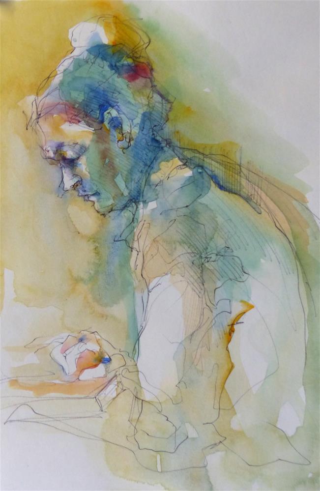"""sketchbook5"" original fine art by Katya Minkina"