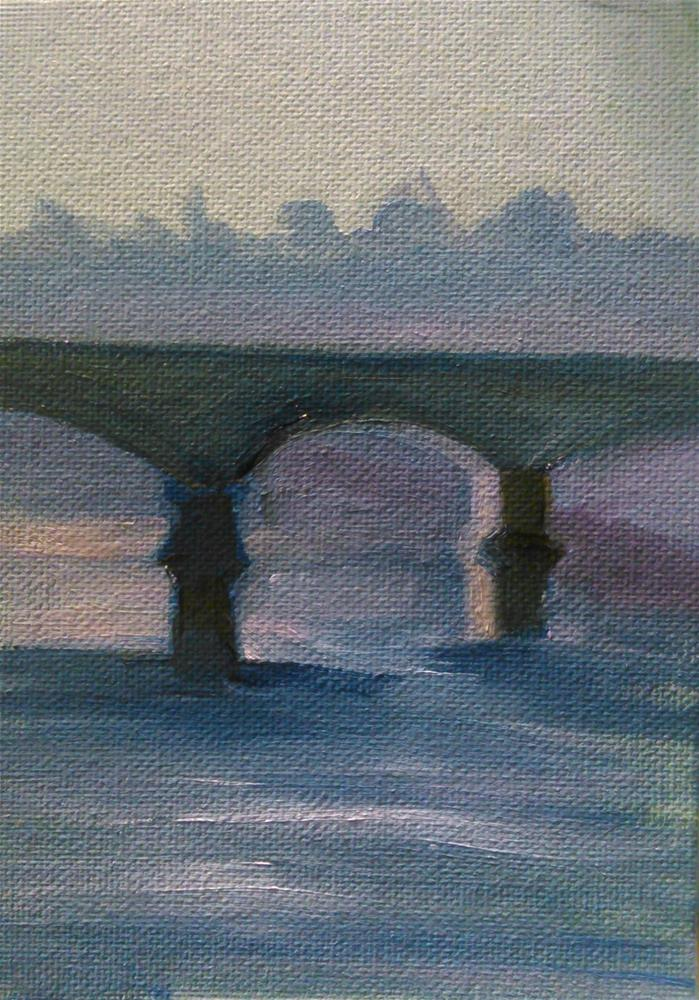 """Troubled Waters"" original fine art by Gerri Obrecht"