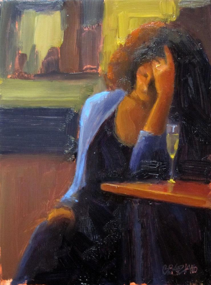 """""""Dear Jill"""" original fine art by Dan Graziano"""