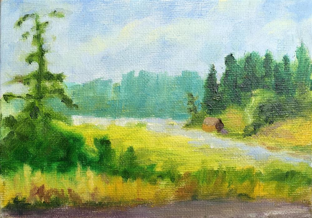 """""""Summer Day"""" original fine art by Tracy Wise"""