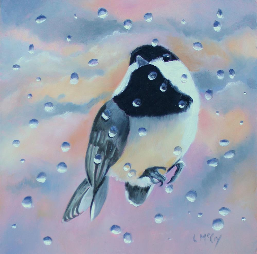 """Shelter from the Storm"" original fine art by Linda McCoy"