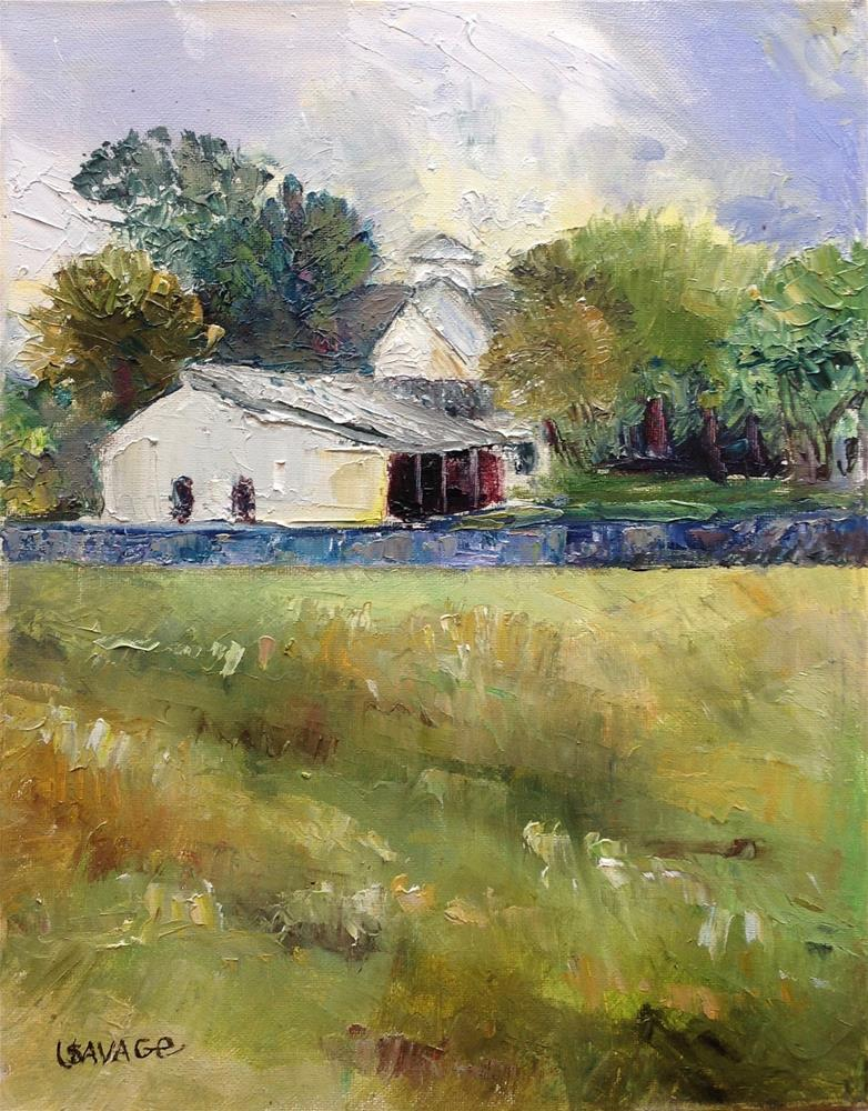"""""""Country Lifestyle"""" original fine art by Judy Usavage"""