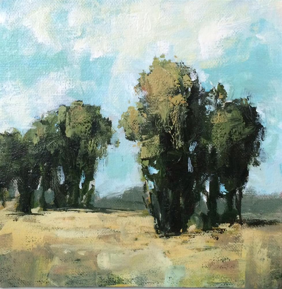 """Through Tall Trees"" original fine art by Shannon Bauer"