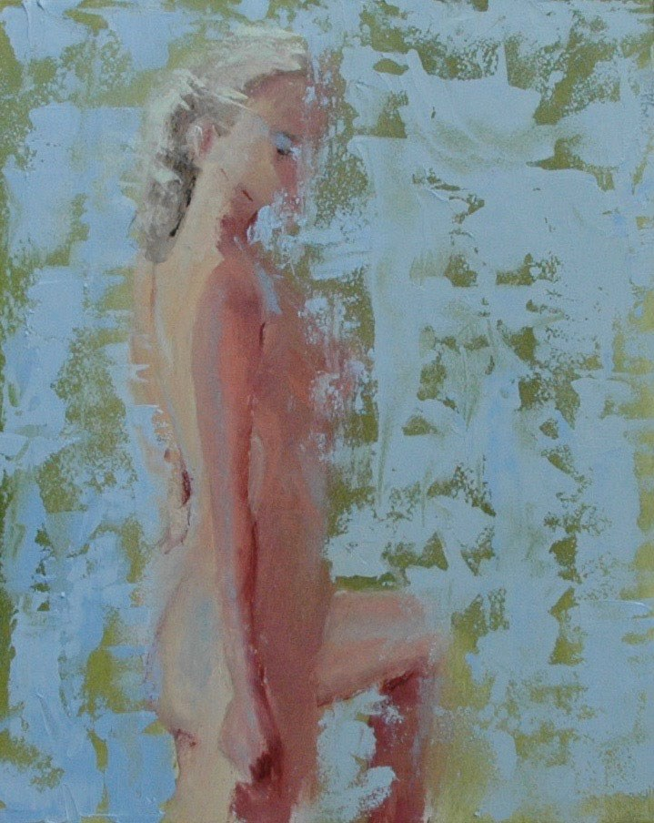 """FIGURE 5"" original fine art by Linda Popple"