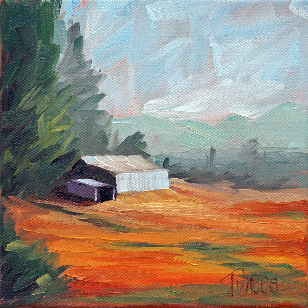 """Landscape 3"" original fine art by Lori Twiggs"