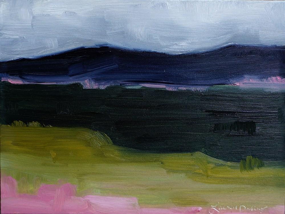"""Far and Wide III"" original fine art by Lauren Dusing"