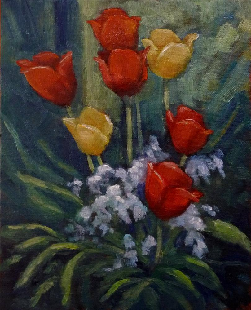 """Finally, Spring"" original fine art by Lisa Kyle"