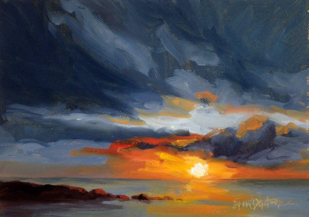 """""""Light Show"""" original fine art by Erin Dertner"""