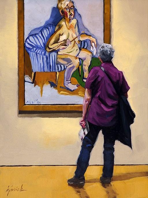 """Neel"" original fine art by Karin Jurick"