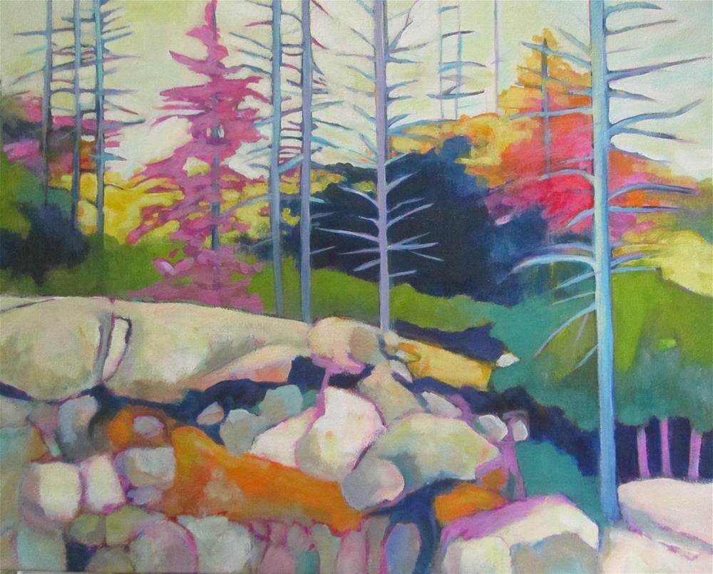"""Northern Escape"" original fine art by Patricia MacDonald"