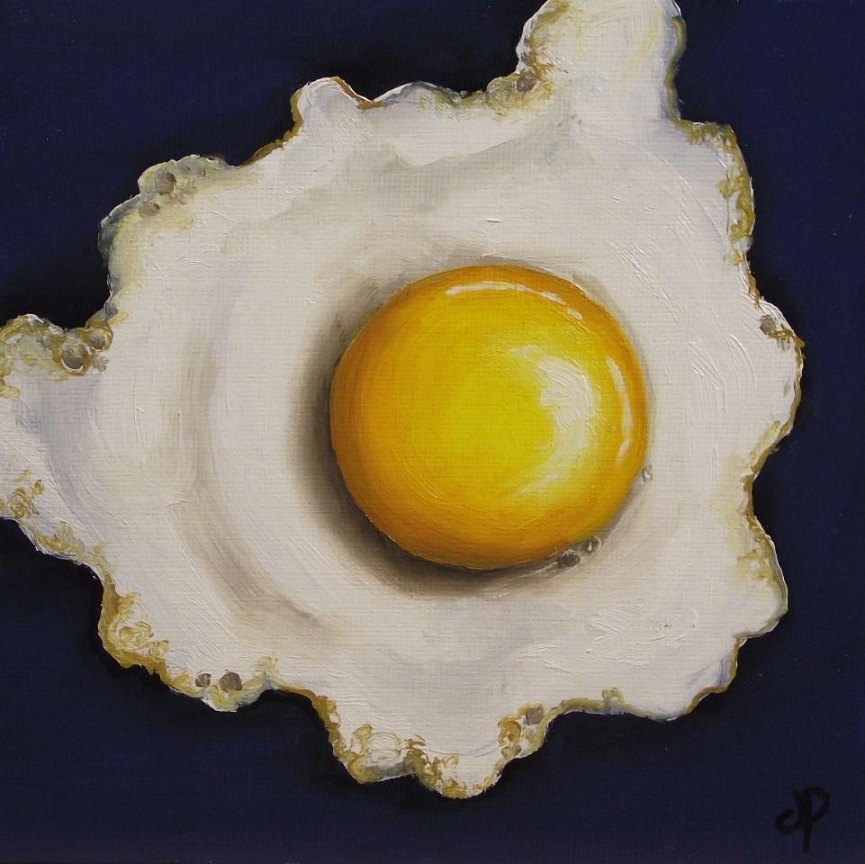 """Six inch egg"" original fine art by Jane Palmer"