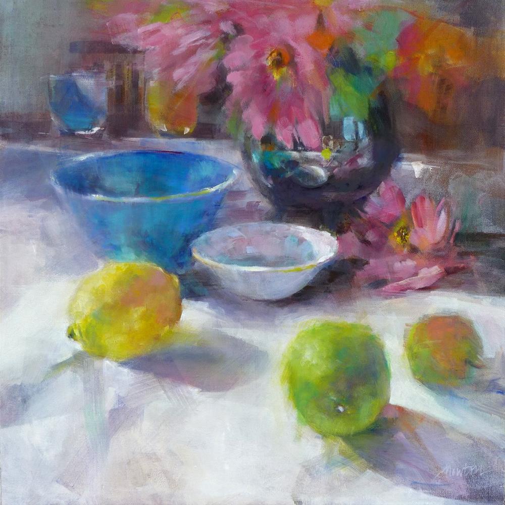 """Practical Matters"" original fine art by Barbara Benedetti Newton"