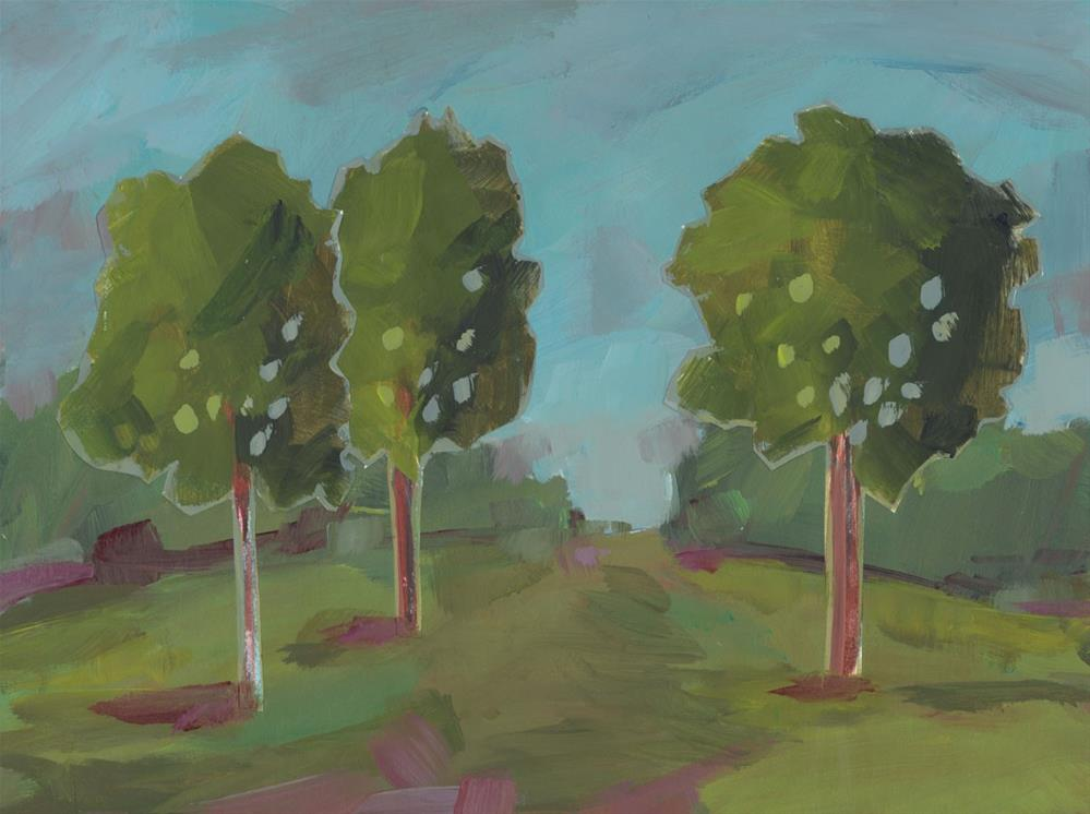 """1113: Walk On By"" original fine art by Brian Miller"