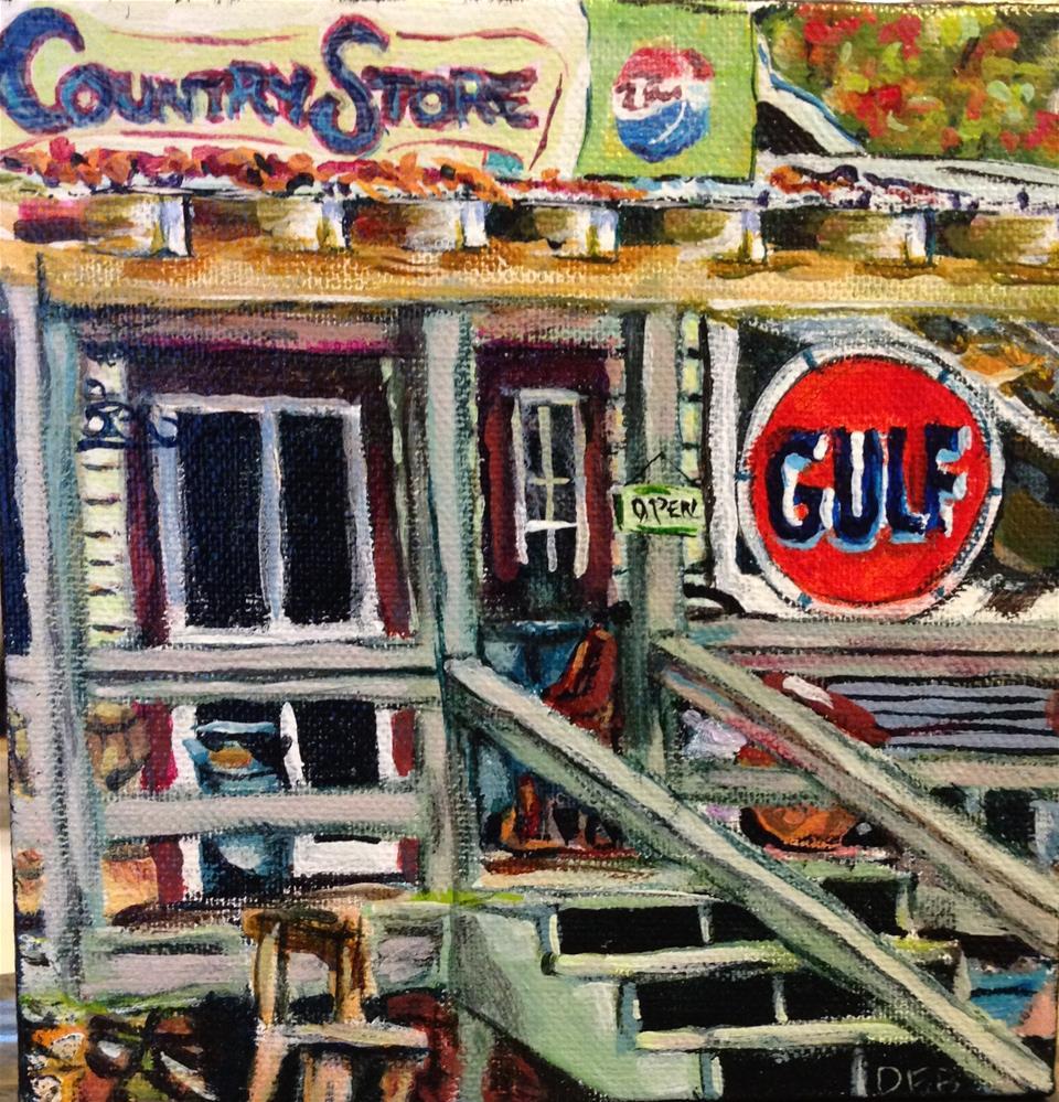 """Country Store"" original fine art by Debbie Yacenda"