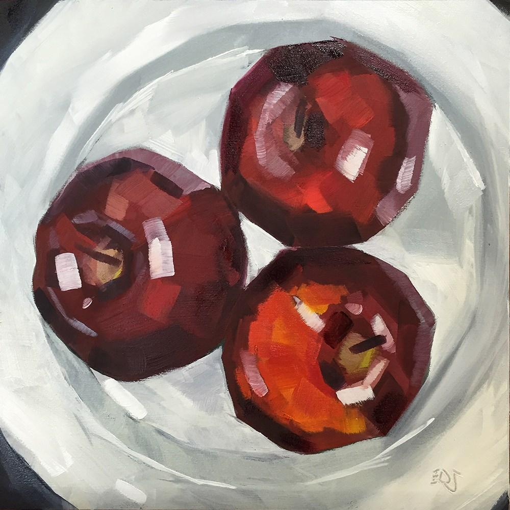 """""""Triple"""" original fine art by Elizabeth Dawn Johnston"""