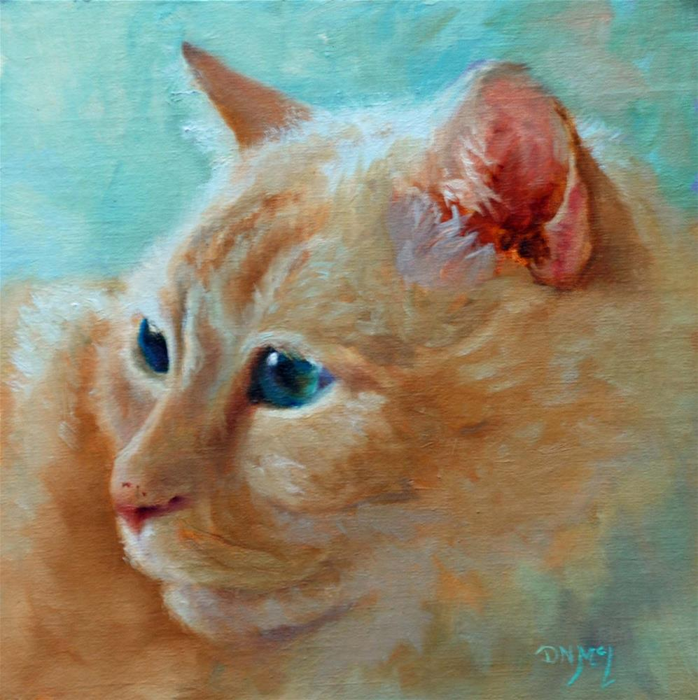 """Simon"" original fine art by Dorothy McLennan"