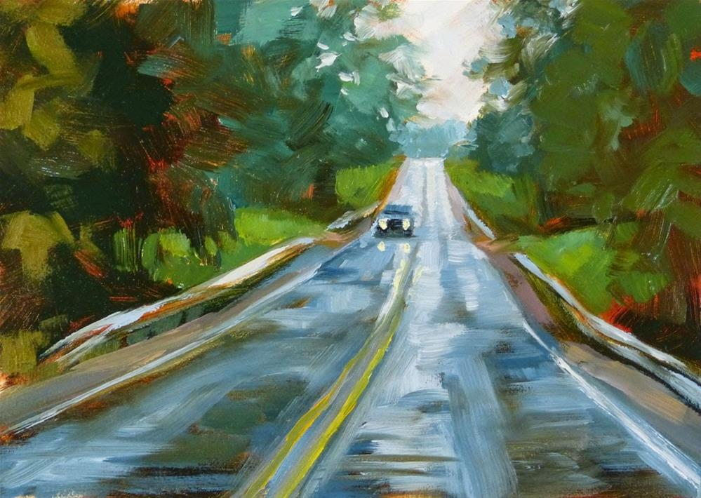 """Road Sketch #32"" original fine art by Rita Kirkman"