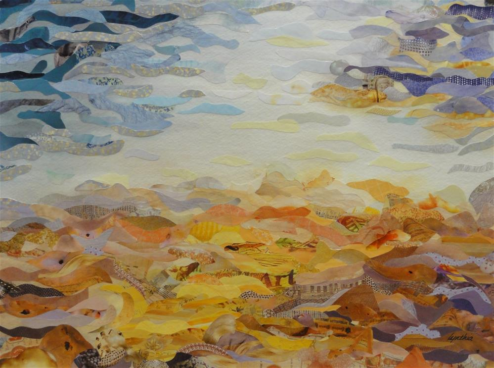 """Paradise City"" original fine art by Cynthia Frigon"