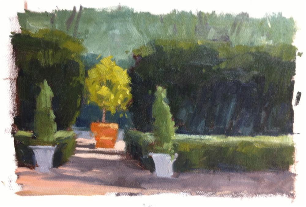 """""""Hidden Corridor - Demo"""" original fine art by Laurel Daniel"""