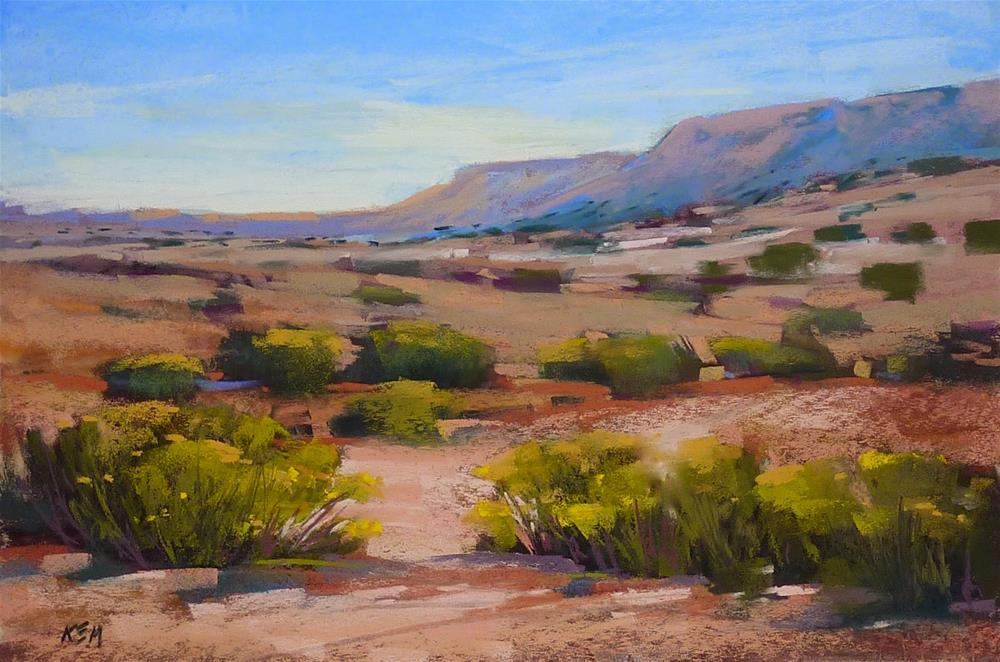 """""""Finding the Right Reference Material for Painting"""" original fine art by Karen Margulis"""