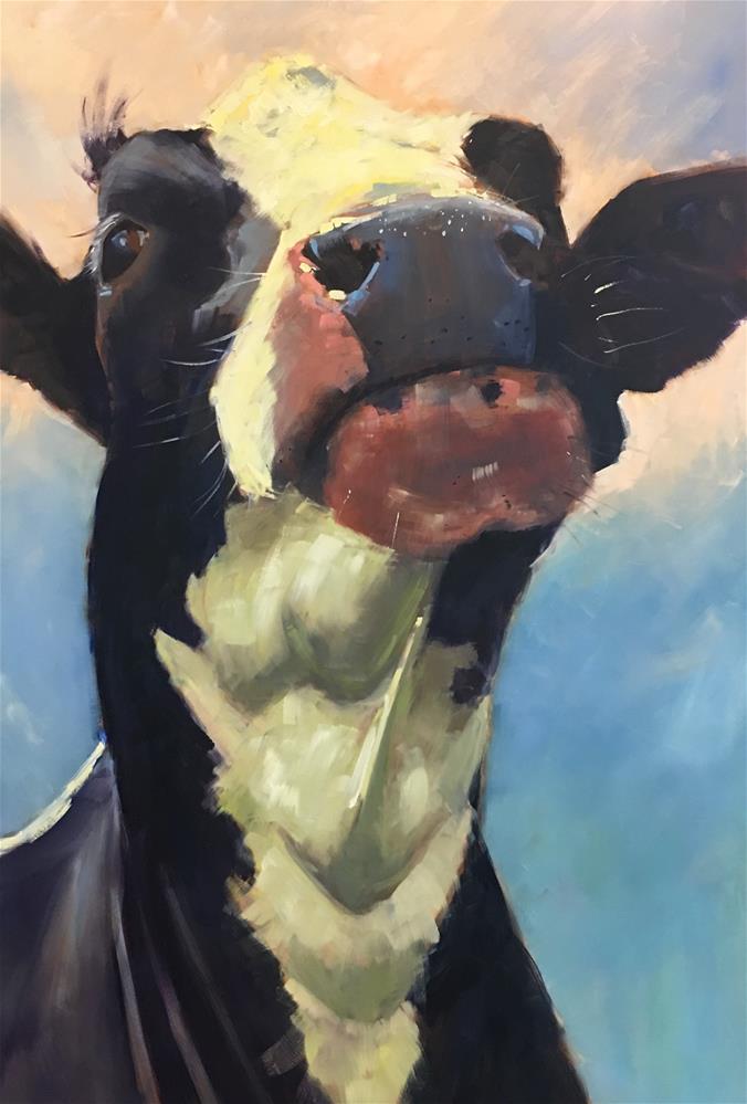 """""""#Resist"""" original fine art by Patty Voje"""