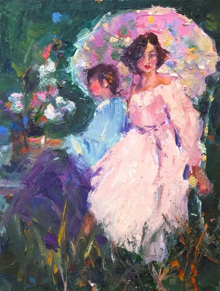 """Beautiful"" original fine art by Marileigh Schulte"