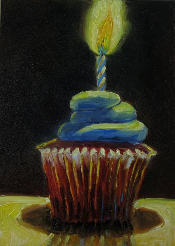 """Heavenly  De-Light"" original fine art by Mb Warner"