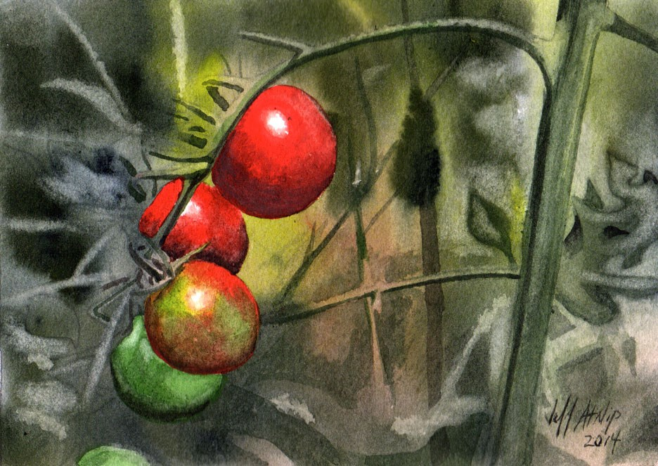 """Sweet One Hundreds"" original fine art by Jeff Atnip"