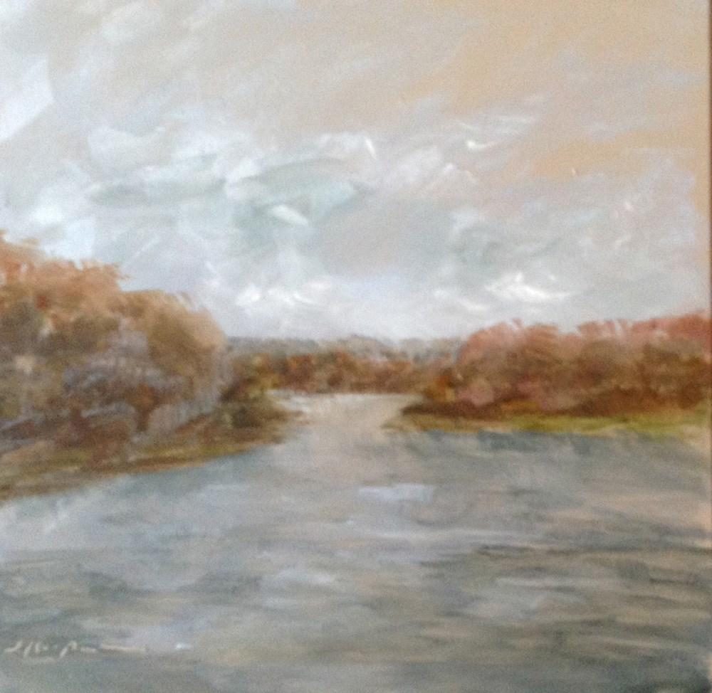 """""""End of Fall"""" original fine art by Shelley Koopmann"""