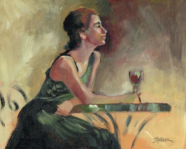 """Sherry - Theresa Taylor Bayer"" original fine art by Theresa Taylor Bayer"