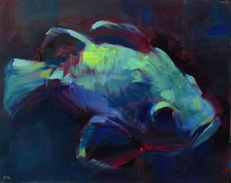 """""""Blue Bayou"""" original fine art by Patti McNutt"""