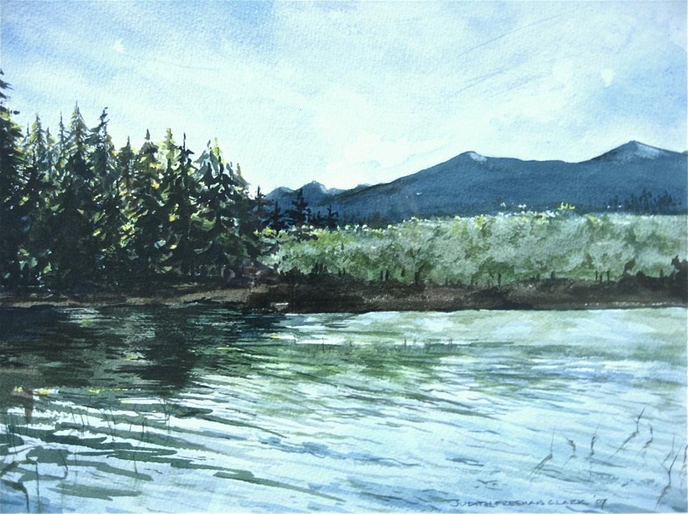 """Maine Reflections"" original fine art by Judith Freeman Clark"