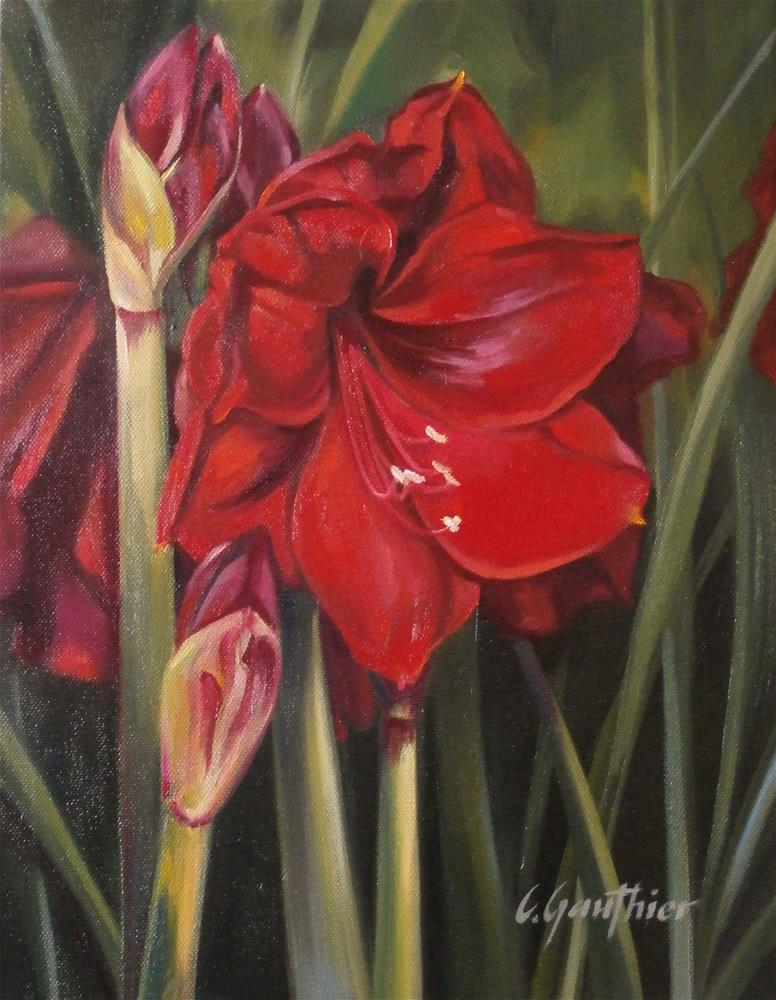 """Blazing"" original fine art by Carla Gauthier"