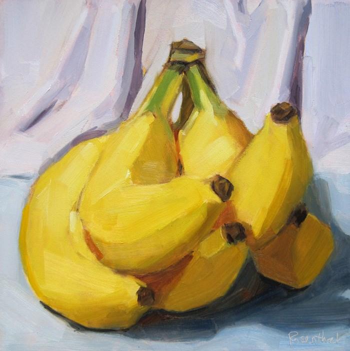 """Bodacious Bananas"" original fine art by Robin Rosenthal"