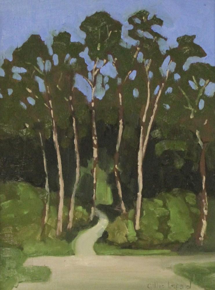 """Veteran's walk"" original fine art by Gilles Lafond"