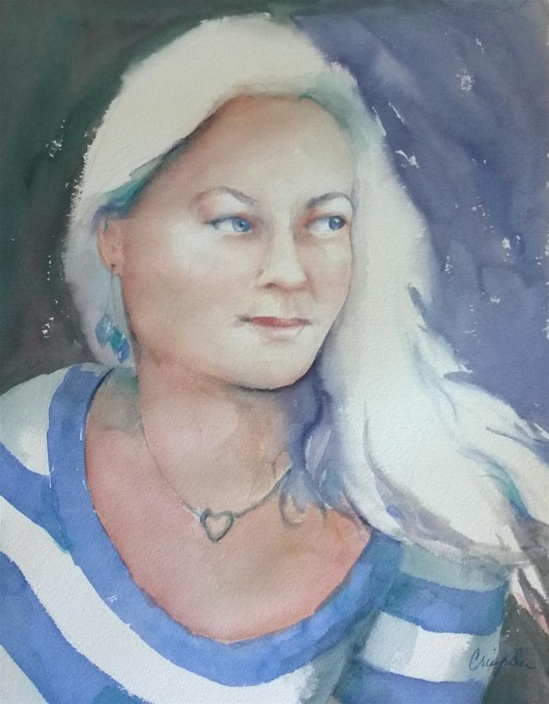 """Anna Katharina improved"" original fine art by Crisynda Buss"
